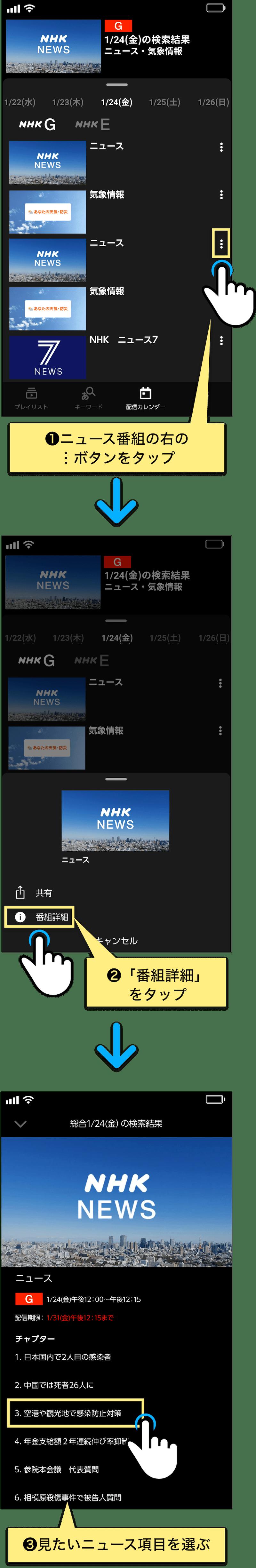 チャンネル nhk の 見方 サブ